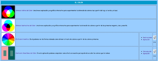 Cor na web de Fernando Ortiz de Lejarazu