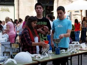 Exposición do proxecto en Tecnoloxía na rúa